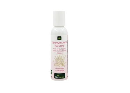 Demaquilante Natural LiveAloe 120ml