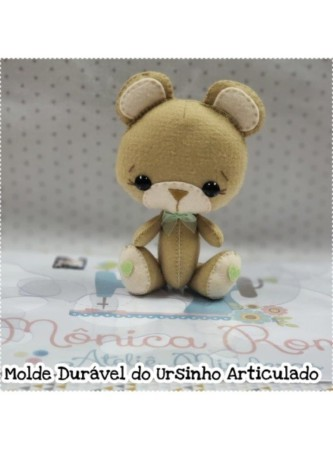 3a275cd71 Molde Durável Ursinho Articulado