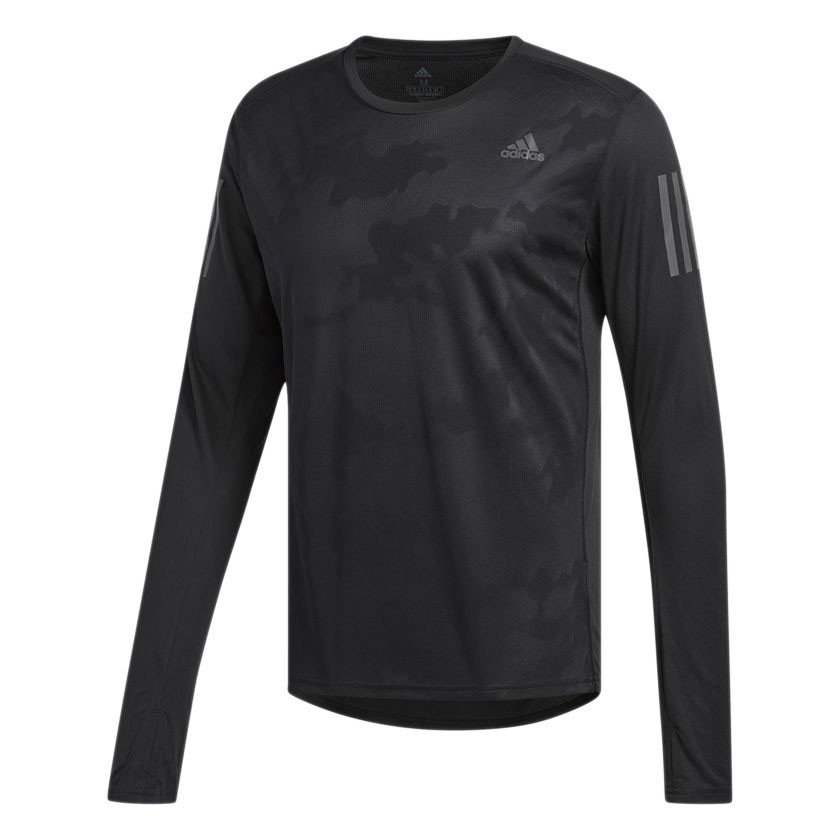 2e33264da Camiseta Adidas Response Manga Longa LS-Masculina -Preto CE7289 - U ...