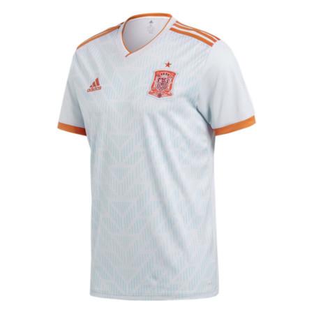 2f09c5ccfc2ca Camisa Adidas Masc M C Espanha II-Cinza BR2697 - P - Blau Blau Sports