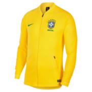 Jaqueta Nike Brasil Masculina CBF Anthm FB-Amarelo 893584-749 47ef204017933