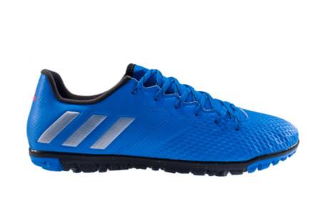 Chuteira Adidas Messi 16 3 TF-Azul S79641 - 40 - Blau Blau Sports fd59de8316d43