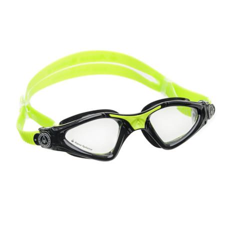 Óculos de Natação Aqua Sphere Kayenne JR Preto e Lima Lente Transparente 609b120a91