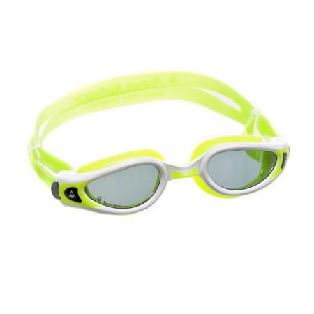 c926457c5 Óculos de Natação Aqua Sphere Kaiman Exo Small Branco e Lima com Lente Fumê