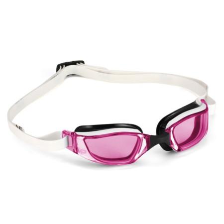 Óculos de Natação Michael Phelps Xceed Lady Preto   Branco - Lente Rosa 3eb507325b