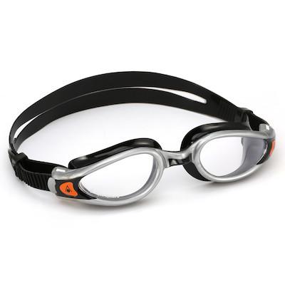 Óculos de Natação Aqua Sphere Kaiman Exo Preto e Prata Lente Transparente 3f564d776e