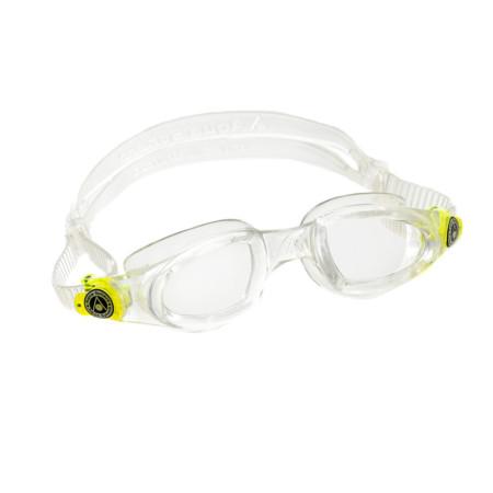 0ba08f38ac8e9 Óculos de Natação Aqua Sphere Mako Transparente e Presilha Verde