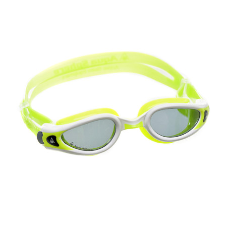 41de6e367017f Óculos de Natação Aqua Sphere Kaiman Exo Small Branco e Lima