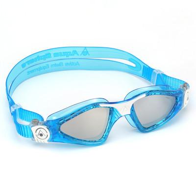 14780a44c Óculos de Natação Aqua Sphere Kayenne Small Azul e Branco Lente Espelhada.  Comprar Detalhes