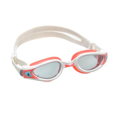 71b90a68f5f82 Óculos de Natação Aqua Sphere Kaiman Exo Lady Branco e Rosa