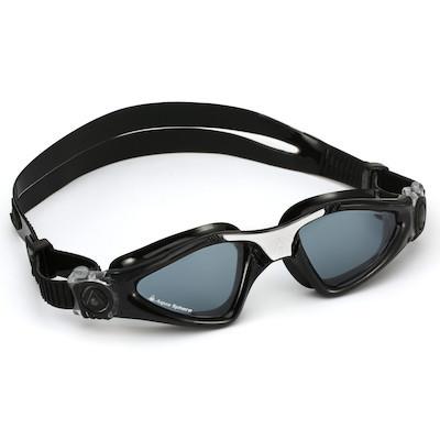 762063d96 Óculos de Natação Aqua Sphere Kayenne Small Branco e Preto Lente Fumê.  Comprar Detalhes