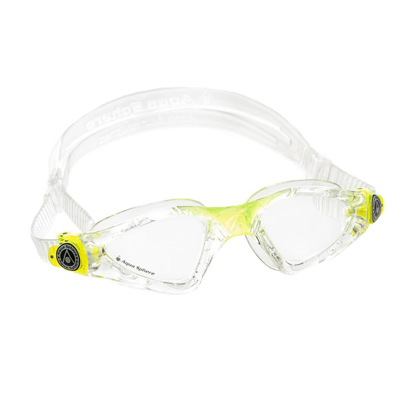 9e4b1fe55 Óculos de Natação Aqua Sphere Kayenne JR Transparente e Verde Lente  Transparente
