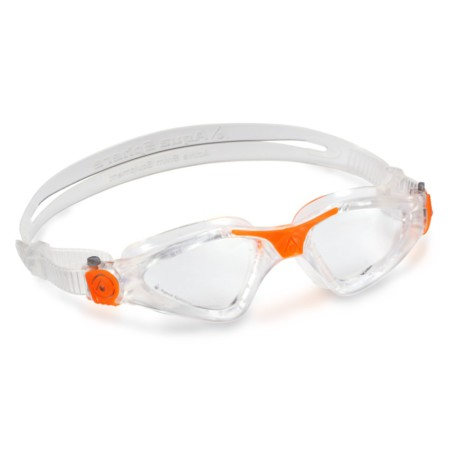 c16ddd94b Óculos de Natação Aqua Sphere Kayenne Transparente / Laranja - Lente  Transparente