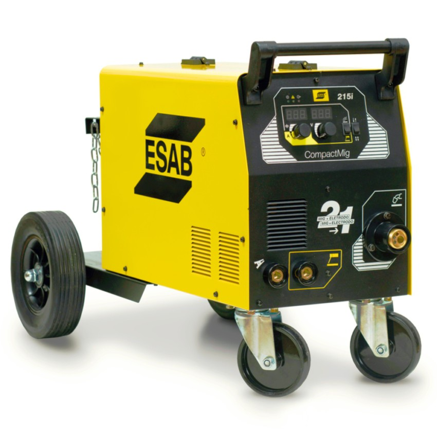 Maquina de Solda MIG e Eletrodo Esab - COMPACTMIG215i - MercadoSoldas.com a8002f9d01