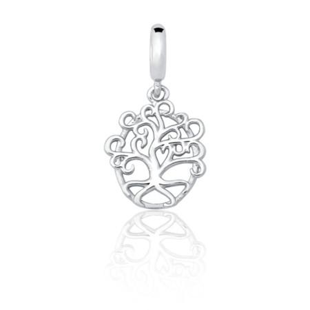 acd777e4ec6 Charm pulseira Sentimentos prata 925 berloque árvore da vida