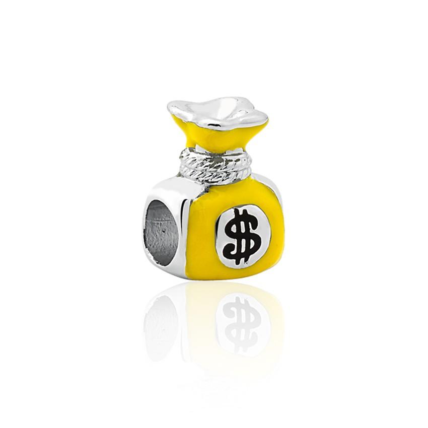 ae23f24f0 Charm pulseira Sentimentos prata 925 saco da fortuna