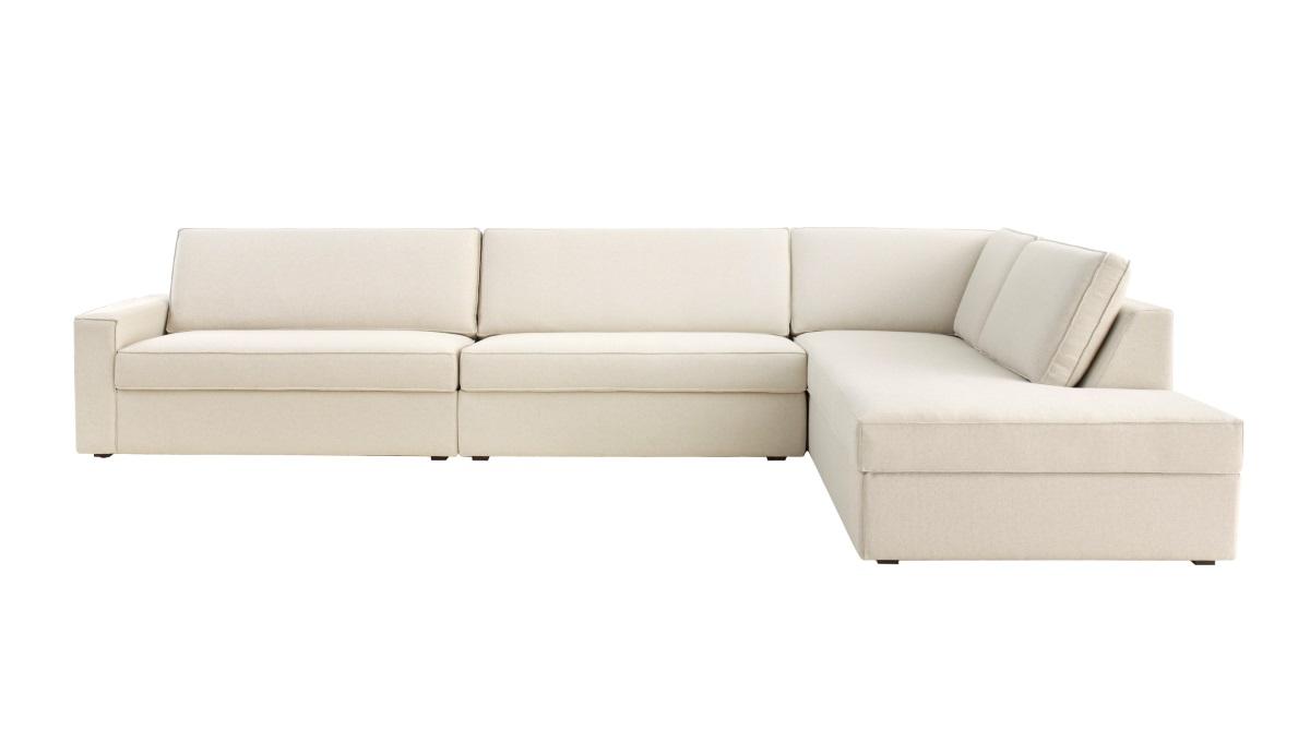 Brilliant Sofa Fly Enele 293Cm 2 Assentos E Chaise Lado Direito Linho Bege Forskolin Free Trial Chair Design Images Forskolin Free Trialorg