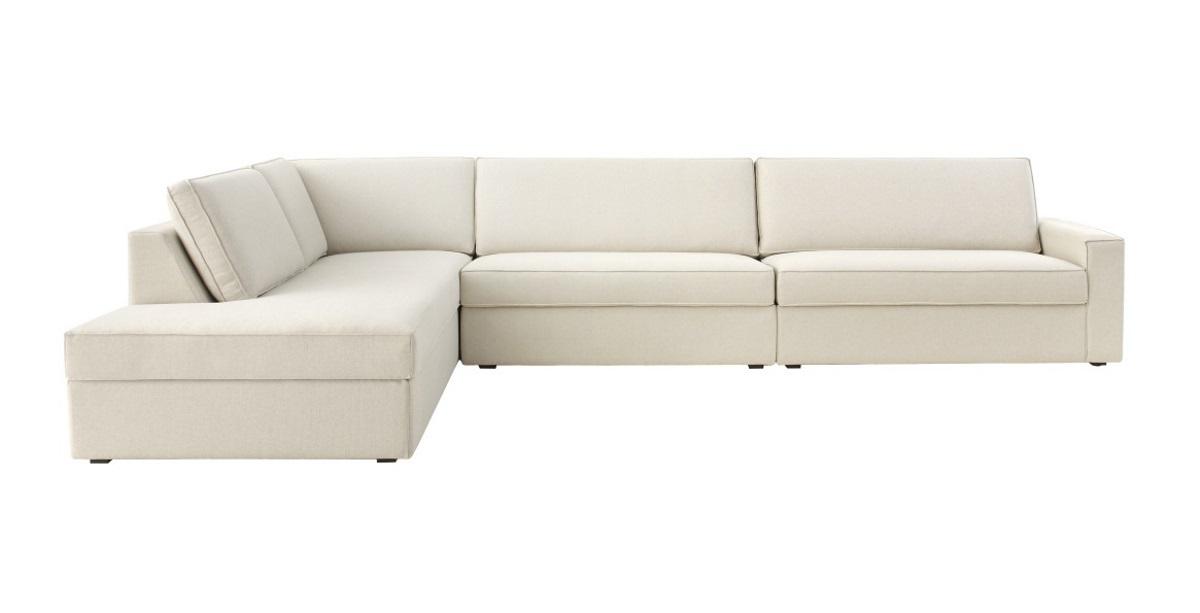 Amazing Sofa Fly Enele 293Cm 2 Assentos E Chaise Lado Esquerdo Linho Forskolin Free Trial Chair Design Images Forskolin Free Trialorg